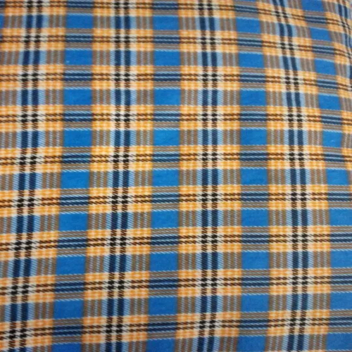 CVC Printed Double Sided Brushed Flannel Fabric