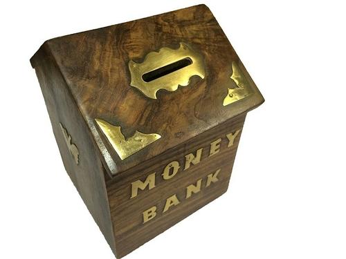 Wooden Money Banks Haider Ali Wood Handicrafts Sarai Qalander