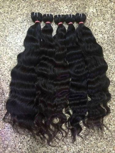 Human Hair Wavy Extensions