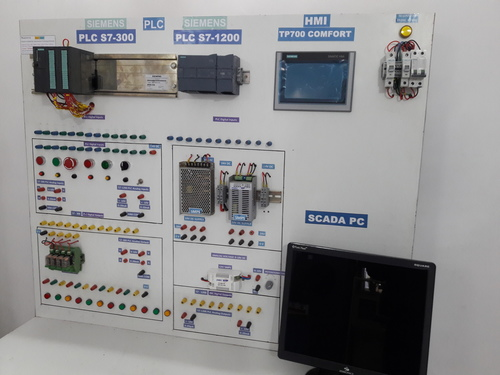 Training Kit with Siemens S7 300 and 1200 PLC, SCADA, HMI at