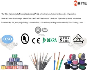 High Voltage Ptfe Wires And Cables