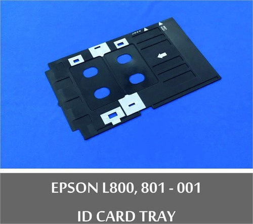 Inkjet Printer Id Card Tray