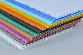 Plastic PP Hollow Sheets in   Dist.