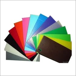 PP Color Corrugated Sheets