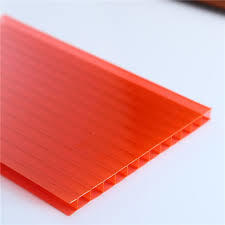 Red Color Polycarbonate Plastic Sheets