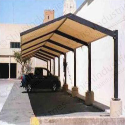 Rigid Car Parking Pp Roofing Sheets