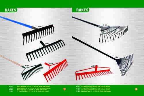 Robust Garden Rakes
