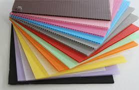 Safeguard Colorful Plastic Flute Sheets
