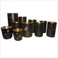 Decorative Metal Votive Candle Holders
