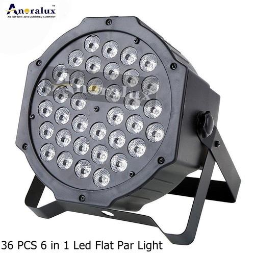 36pcs 6 In 1 Led Flat Par Light
