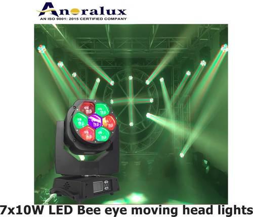 7 10w Led Bee Eye Moving Head Lights