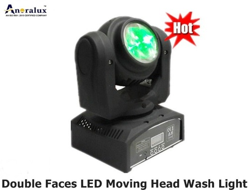 Double Faces Led Moving Head Wash Light