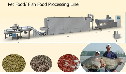 Expanded Aquarium Fish Feed Production Line