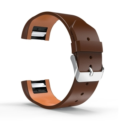 Genuine Leather Replacement Bracelet Strap Band for Fitbit Charge 2