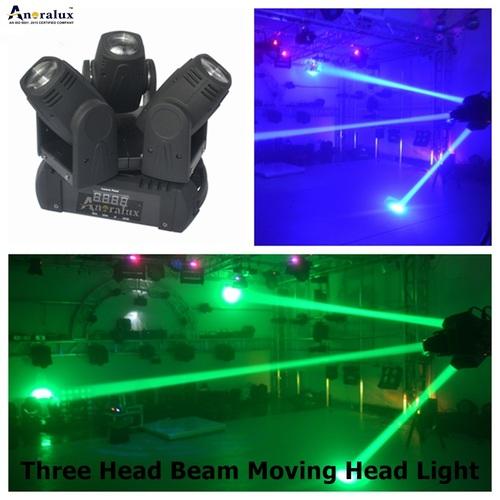 Three Head Beam Moving Head