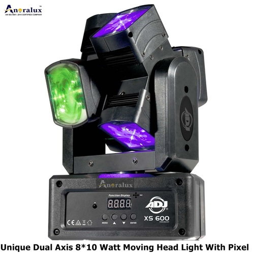 Unique Dual Axis 8*10w Moving Head Light With Pixel