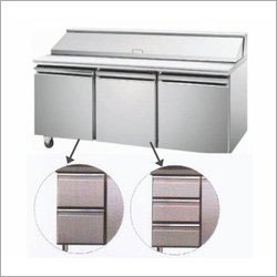 Two Door Under Counter with Bain Marie