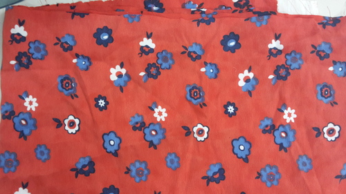Finest Quality American Crepe Printed Fabrics in  Chandni Chowk