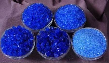 Royal Blue Color Silica Gel