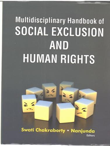 Multidisciplinary Handbook Of Social Exclusion And Human Rights Books