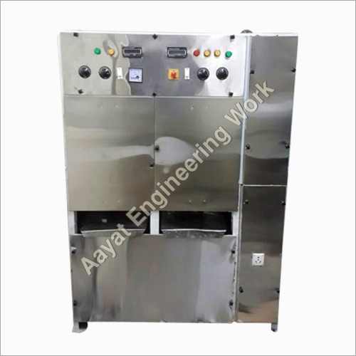MS Body Fully Automatic Double Die Dona Machine