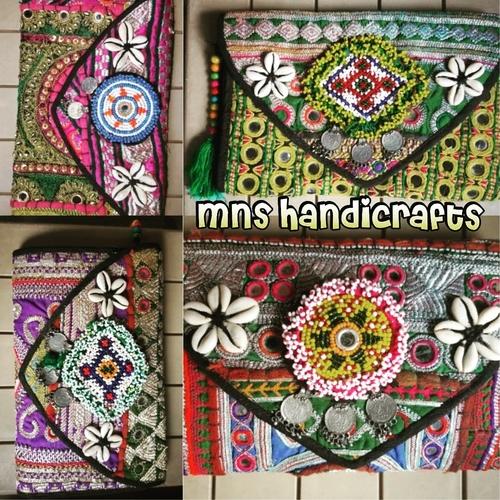 Banjara Afghani Ladies Clutch Bags in  Sukhdev Vihar
