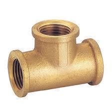 Brass Pipe Female Tee