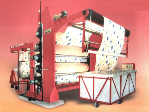 Calender Machine With Three Bowl