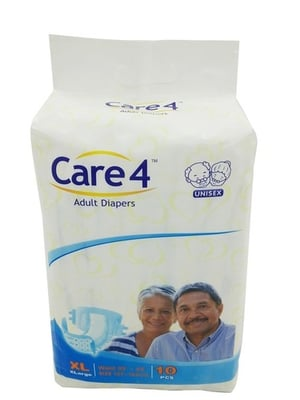 Care4 Extra Large Unisex Adult Diapers