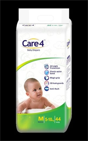 Care4 Medium Size Baby Diapers