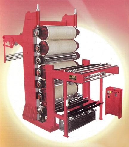 Five Bowl Calender Machine