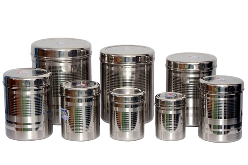 Stainless Steel Kitchen Storage Containers in Yamunanagar Haryana
