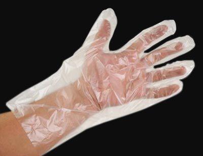 Disposable Transparent Hand Gloves