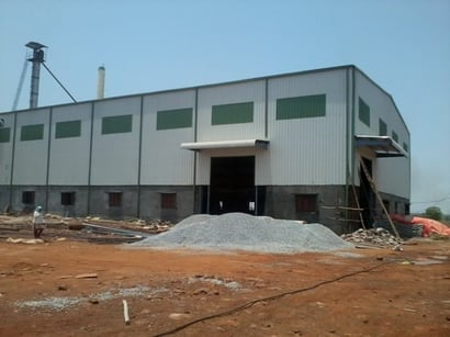 Rice Mill Sheds Building