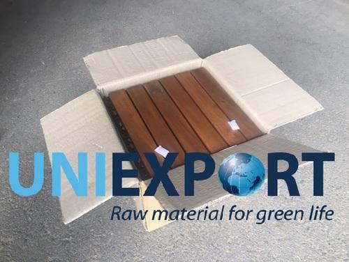 Waterproof Outdoor Wood Plastic Composite Decking Tiles