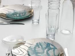 Glass Designer Dinner Sets