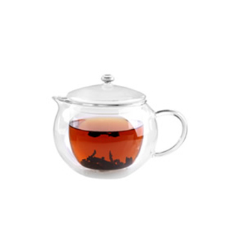 Double Wall Tea Glass Cup