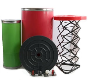 Rivetless & Riveted Spinning Cans