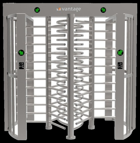 Full Height Dual Lane Turnstile Gates