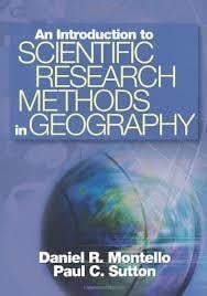 An Introduction To Scientific Research Methods In Geography Book