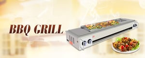 Pro Environment Commercial Smokeless Gas Grill