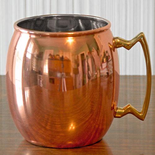 Pure Copper Metal Mule Mug