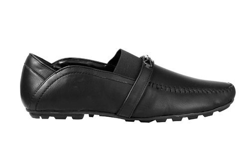 Men'S Black Color Loafers