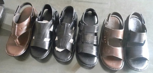 Men S Office Wear Leather Sandals At