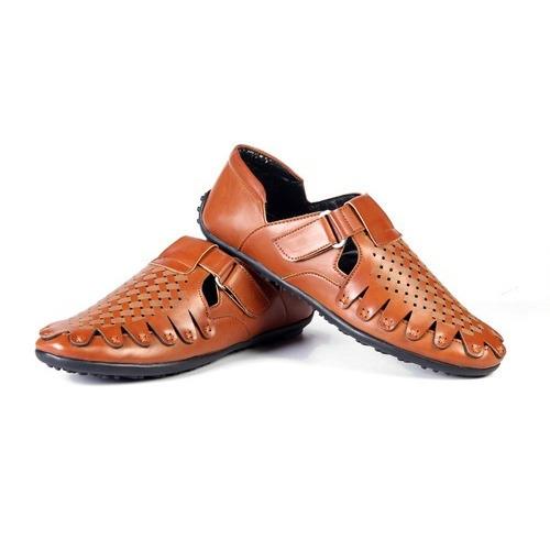Men'S Tan Casual Sandals