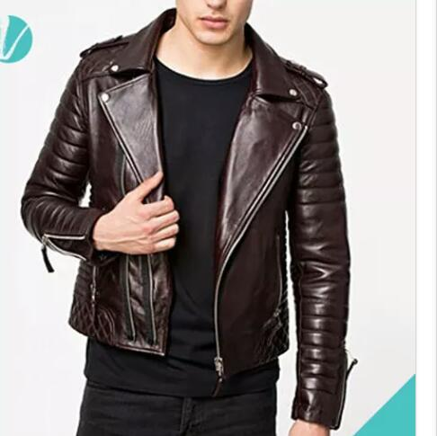 Mens Full Sleeves Leather Jackets in  Govindpuri
