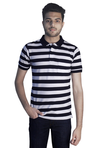 Skin Friendly Mens Polo Neck T Shirts