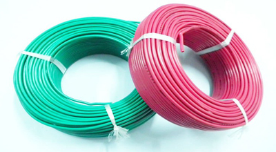 Green And Red Housing / Building Cables (Single Core)