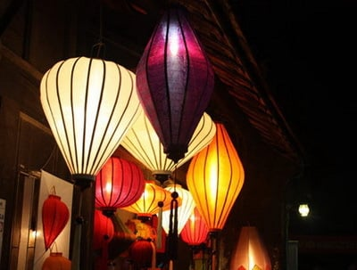 Multiple Color Bamboo Lanterns