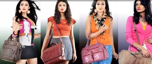 Leather Handbags in  Baguiati